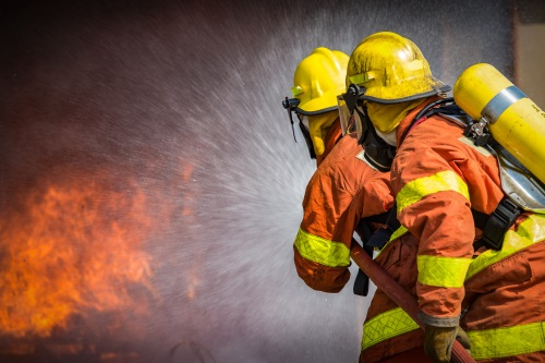 Lavoro: side by side with the firefighters
